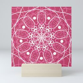 Mandala Pink Spirit Mini Art Print