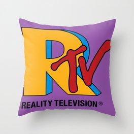 Reality Television Throw Pillow