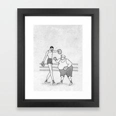 BOXING DAY Framed Art Print