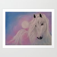 serenity Art Prints featuring Serenity by Christine's heART