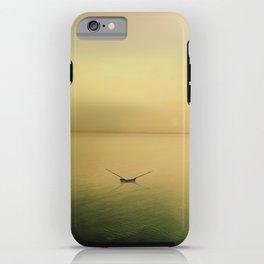 Serene buoyancy iPhone Case