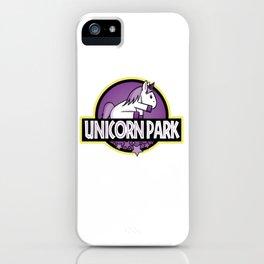 Unicorn Park iPhone Case