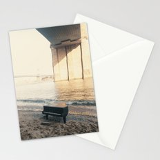 east river piano Stationery Cards