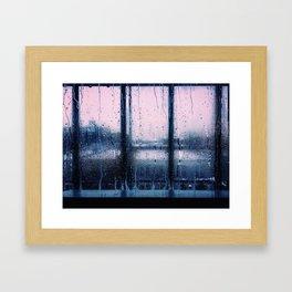 Sunset in Brooklyn Framed Art Print