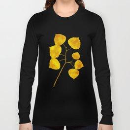 Gold Leaf Art Long Sleeve T-shirt