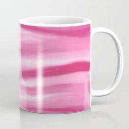 Cotton Candy Pink Abstract Coffee Mug