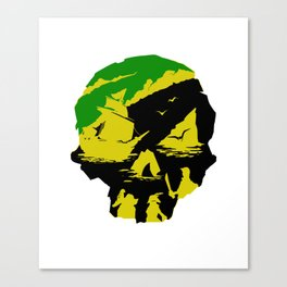 Sea of Thieves - Pirates of the Caribbean Canvas Print