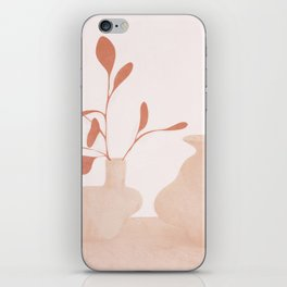 Minimal Branches and Vases iPhone Skin