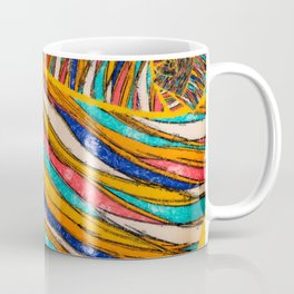 Colorful Fabric Texture Coffee Mug