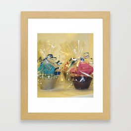 Perfectly Sweet Cupcakes Framed Art Print