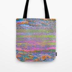 51-23-76 (Pastel Rainbow Glitch) Tote Bag