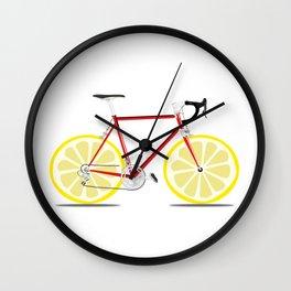 Single Lemon Speed Wall Clock