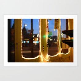 Lights of Amsterdam Art Print
