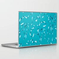 bows Laptop & iPad Skins featuring Ribbons & Bows by Haliard