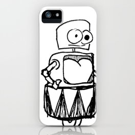 Roller Robot iPhone Case