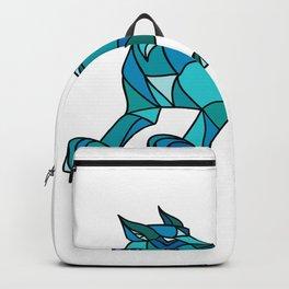 Bobcat Prowling Mosaic Backpack