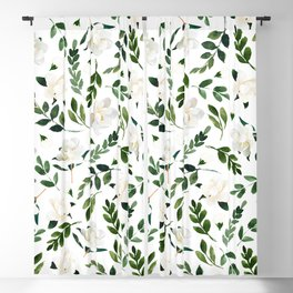 Magnolia Tree Blackout Curtain