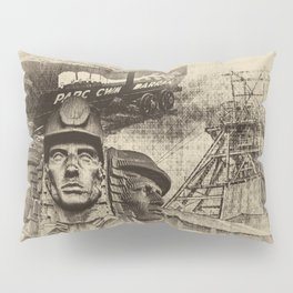 Mining Tribute Antique 2 Pillow Sham