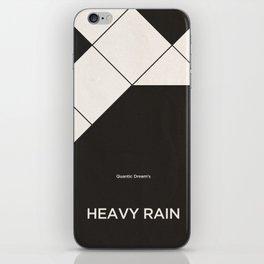 Quantic Dream's Heavy Rain iPhone Skin