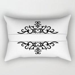 calligraphic design Rectangular Pillow