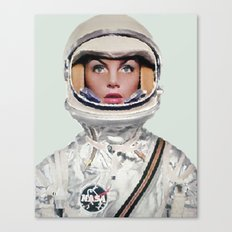 Nasa Woman Astronaut Canvas Print
