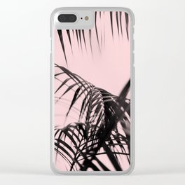Pink feat Palm Clear iPhone Case