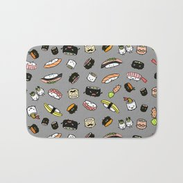 Sushi Friends Bath Mat
