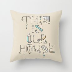 This Is Our House Throw Pillow