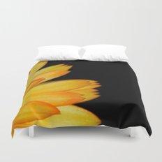orange petals Duvet Cover