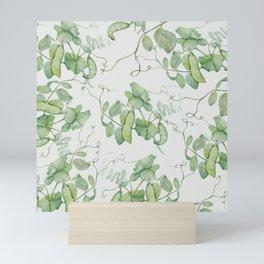 Floating Peas Mini Art Print