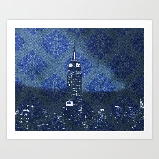 Empire Night Art Print