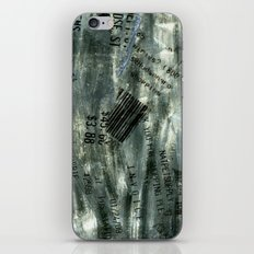Receipts iPhone & iPod Skin