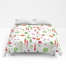 Veggie Party Pattern Comforters