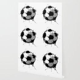 Grunge football ball Wallpaper