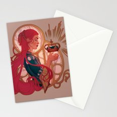 Enby royalty Stationery Cards
