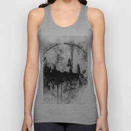 INTO THE FOREST I GO Unisex Tank Top