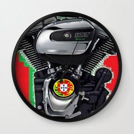 Portuguese Rumbler Wall Clock