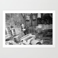 Ancient Shed Art Print