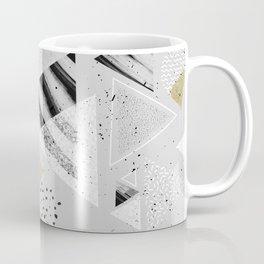 Geometric abstract triangles Coffee Mug