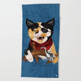 Purrrate Beach Towel