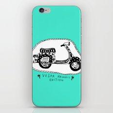 Vespa Hawaii Edition. iPhone & iPod Skin