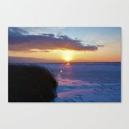 Frozen Sound Canvas Print
