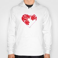 dot Hoodies featuring Dot by ♥ Charlie