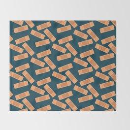Bandaid Solution Throw Blanket