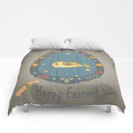 Easter Bird Comforters