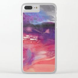 Gender is a Spectrum Clear iPhone Case