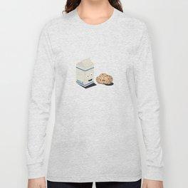Cookies and Milk best friends Long Sleeve T-shirt