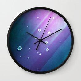 Mermaid Thoughts | Abstract Wall Clock