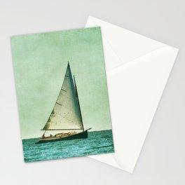 sailing cape cod seas Stationery Cards