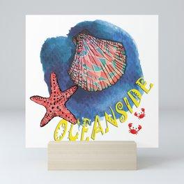 Oceanside Mini Art Print